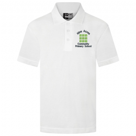 White Nine Acres Polo Shirt